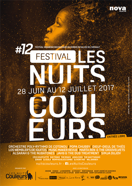 affiche nuits coul aniane