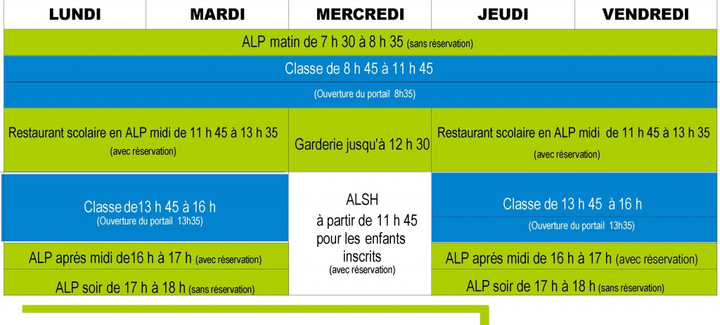 tableau rentree scolaire 2014