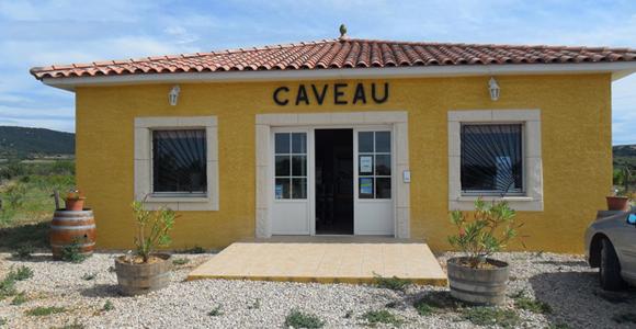 Le caveau du Domaine Croix de Saint-Privat