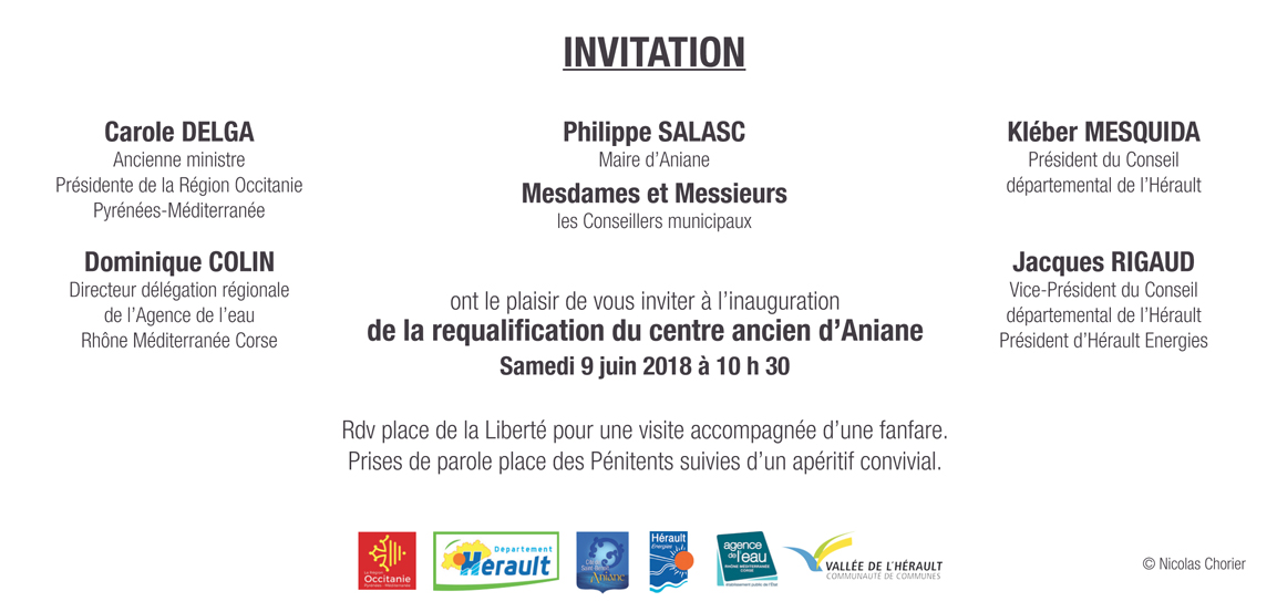 VERSO Carton invitation inauguration