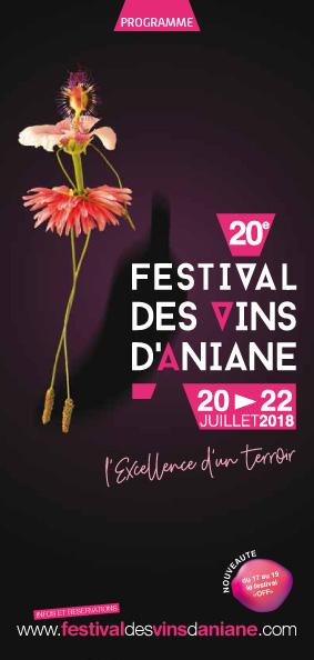 Festival des Vins d'Aniane 2018 -1