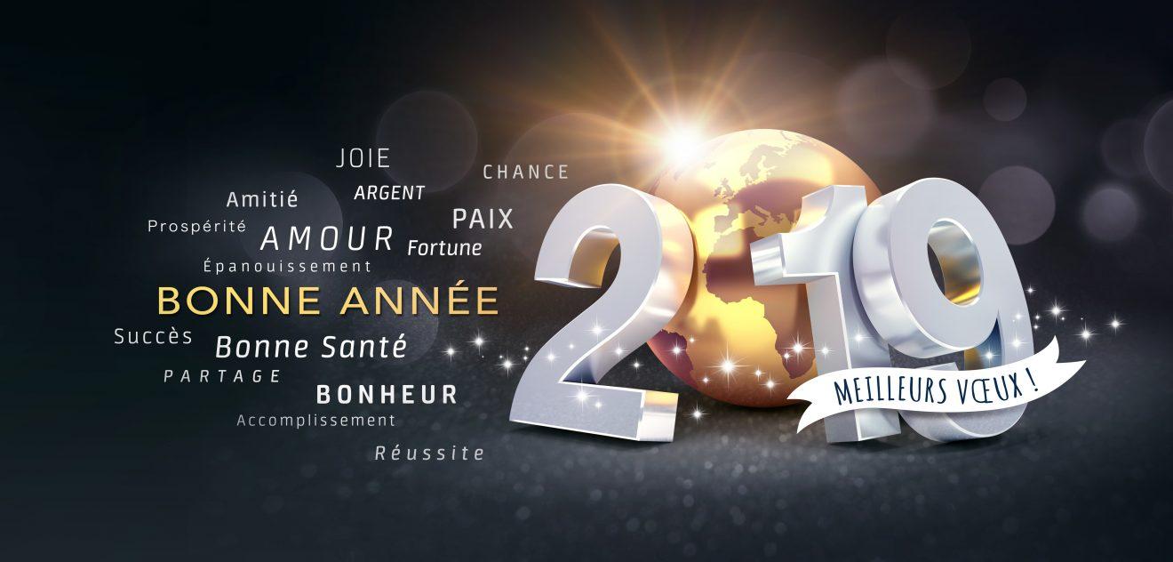 2019 Carte de voeux