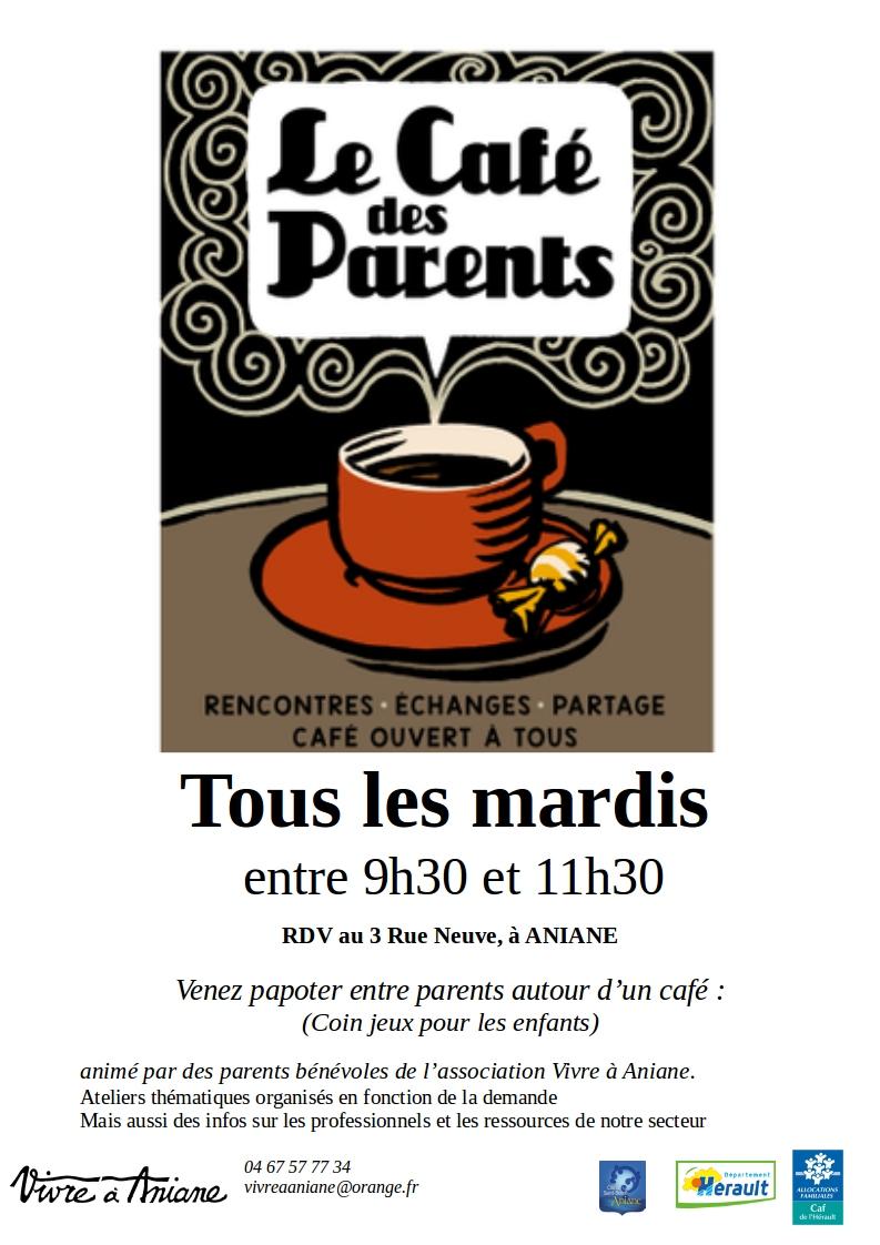 AFFICHE Café des Parents novembre 2019