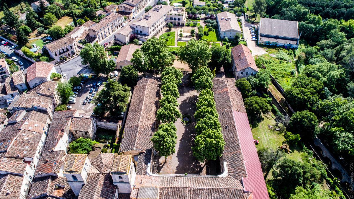 vue aérienne oblique, photo numérique