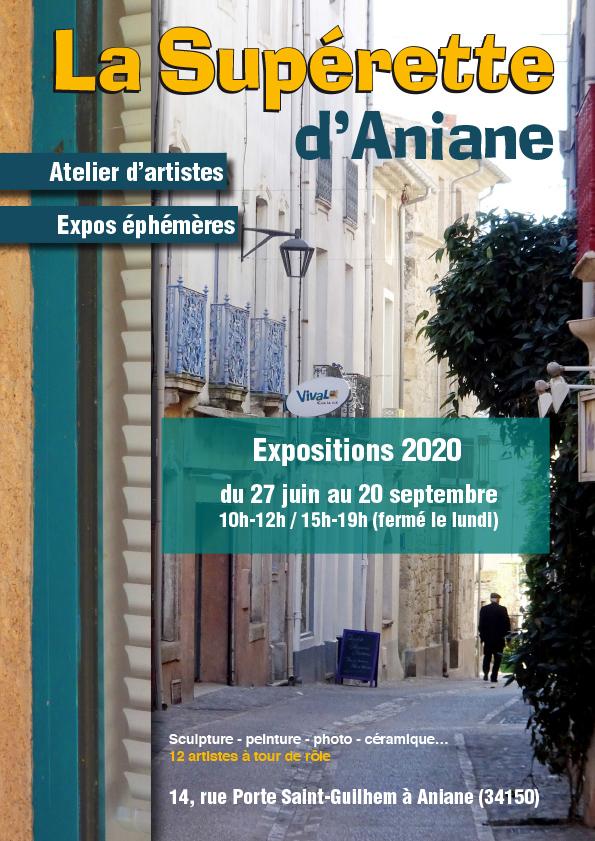 Affiche Superette 2020