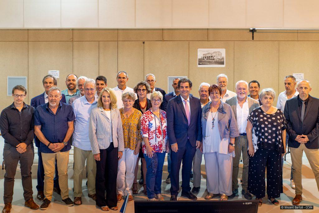 Membres du Bureau CCVH 08 07 2020Vincent Bartoli